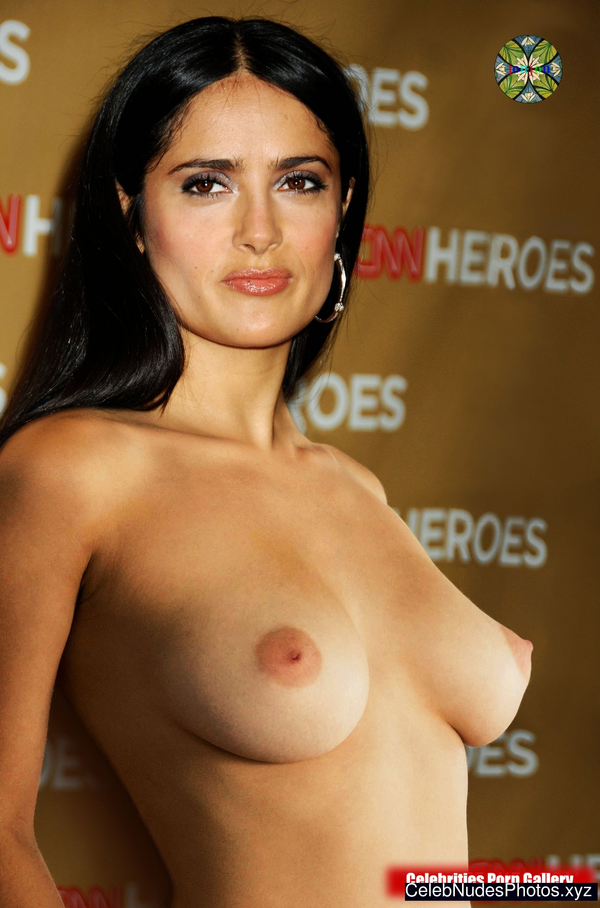 Salma Hayek naked celebrities