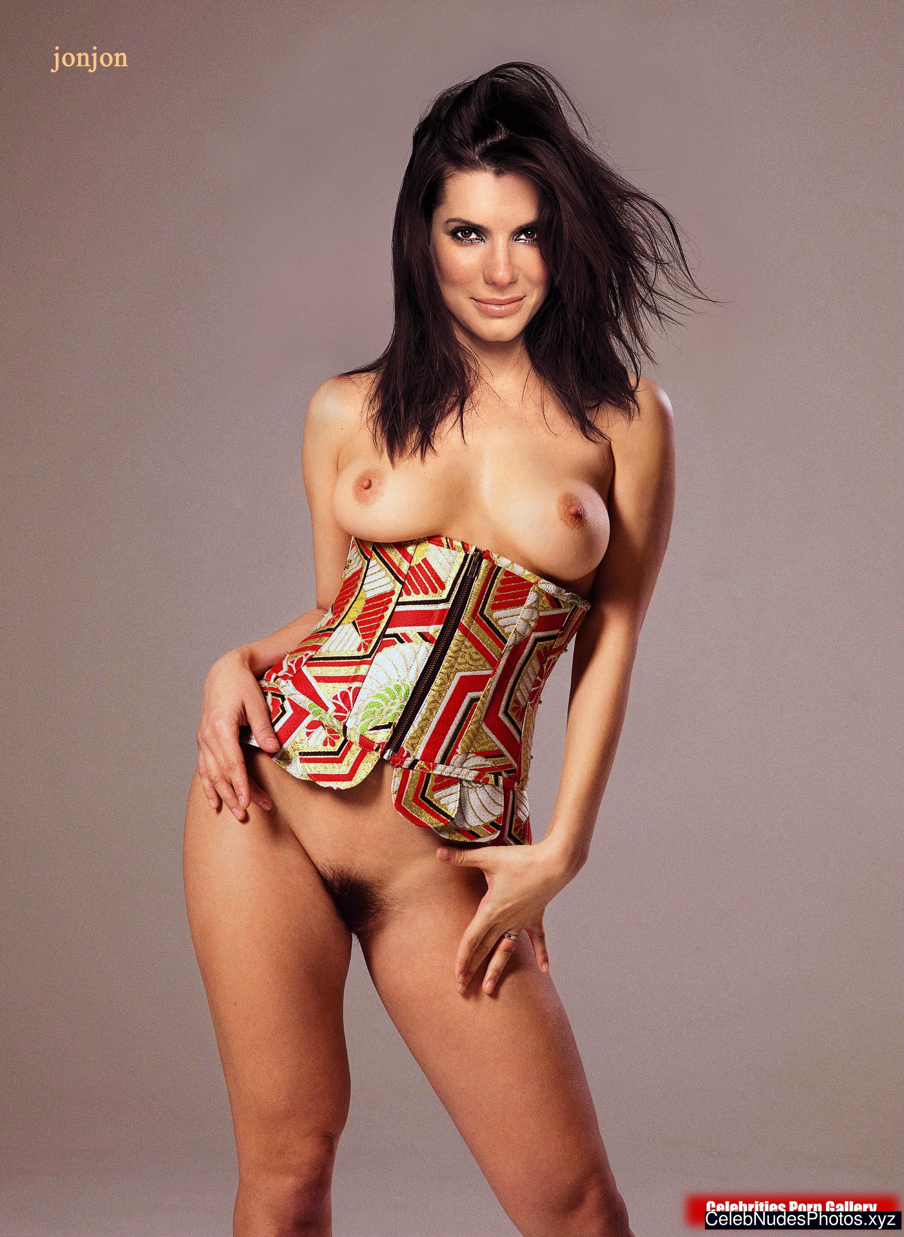 Sandra Bullock naked celebrity