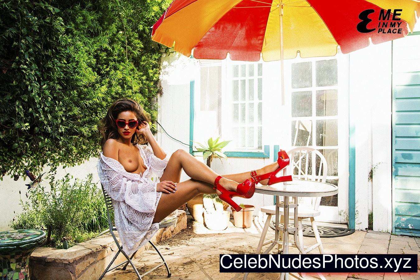 Shay Mitchell naked celebrity