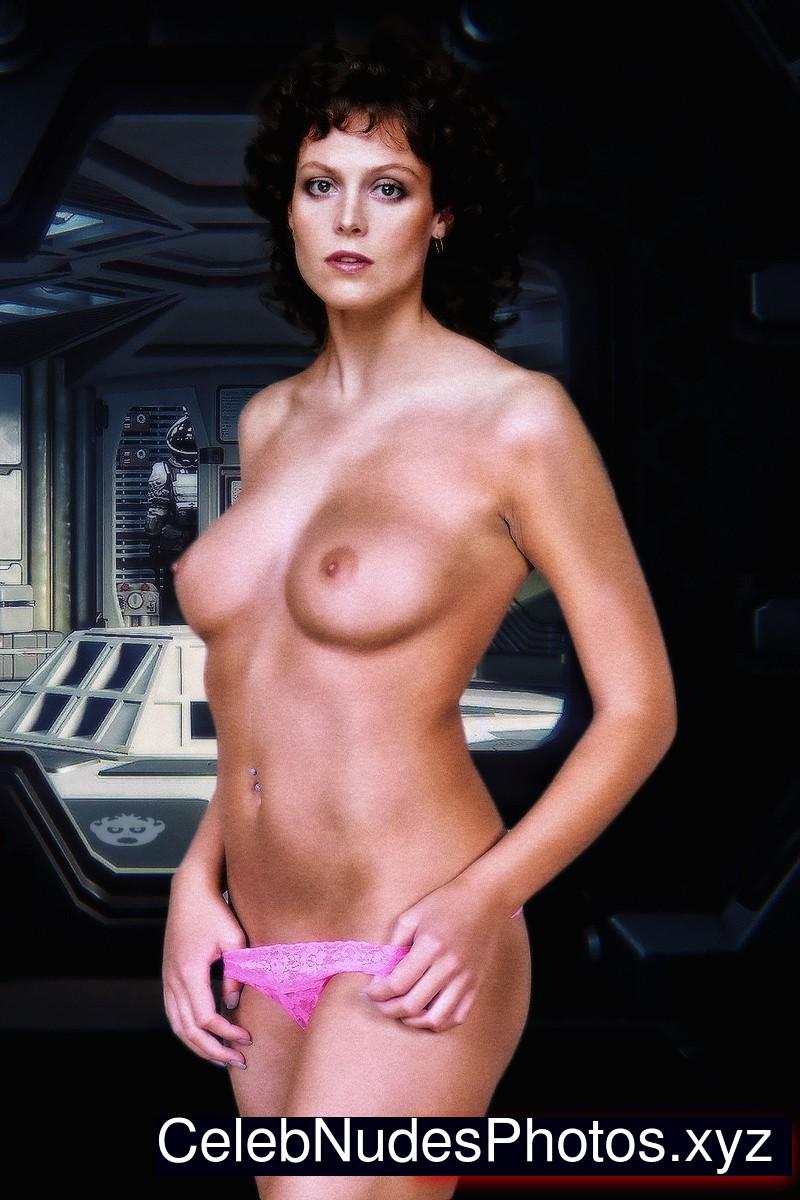 Sigourney Weaver fake nude celebs