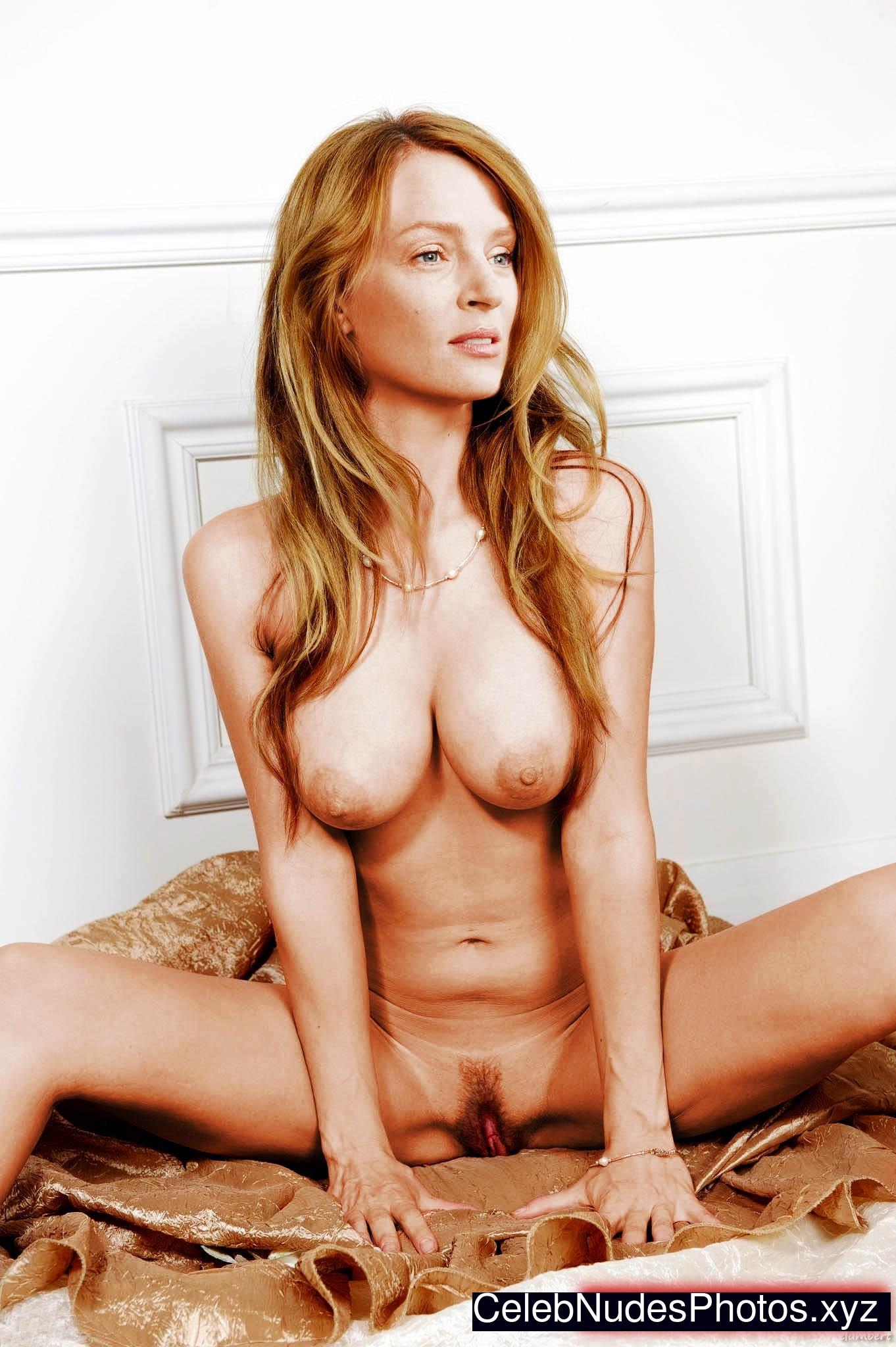 Uma Thurman celebs nude