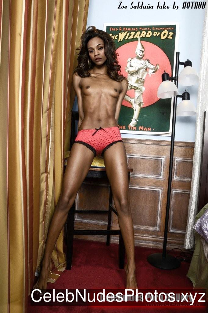Zoe Saldana nude celeb