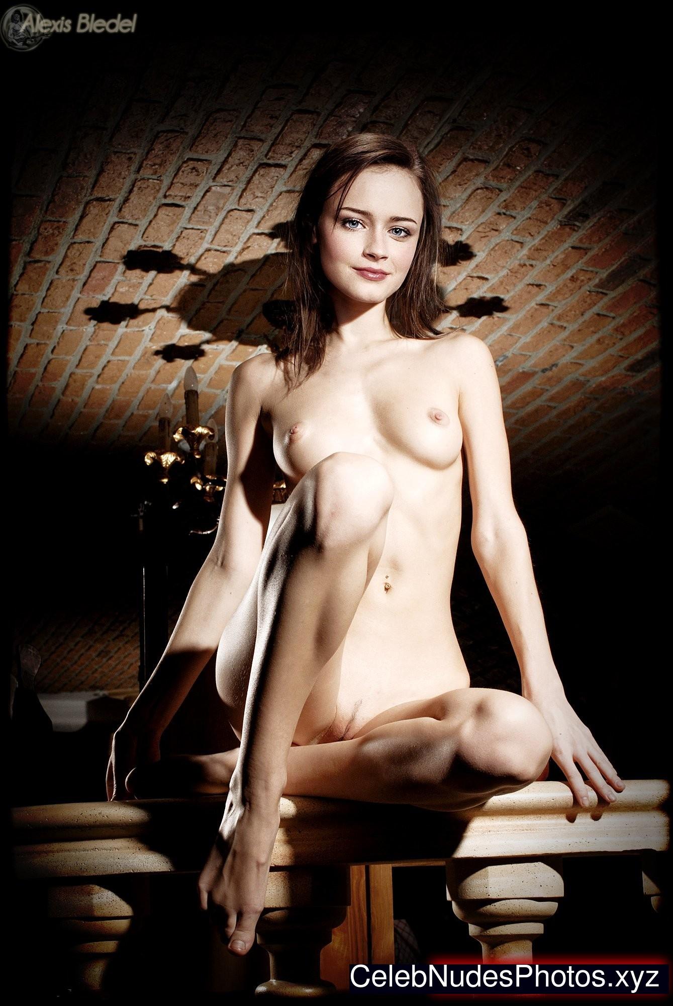 alexis bledel naked real