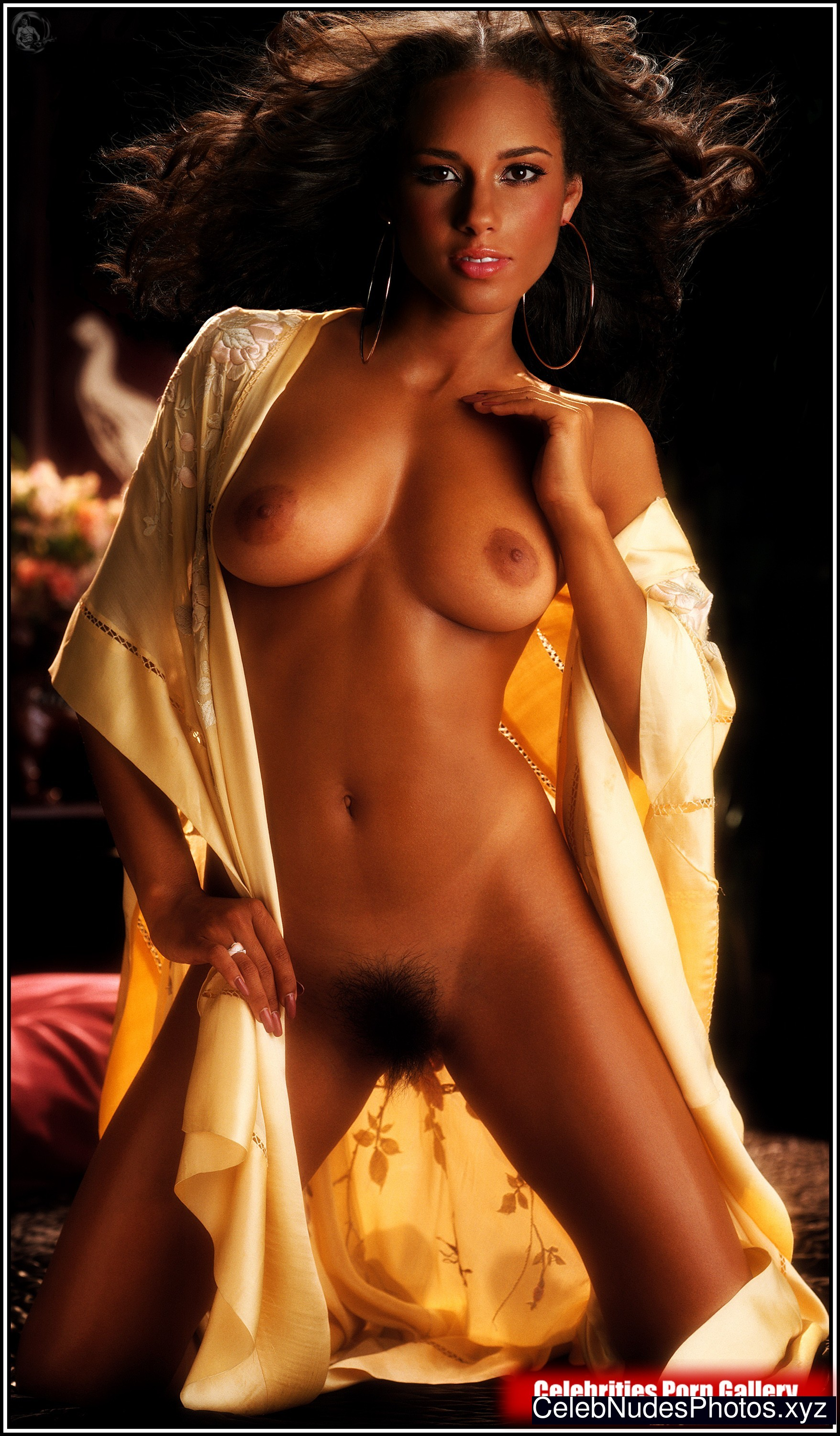 nude photos of alicia keys