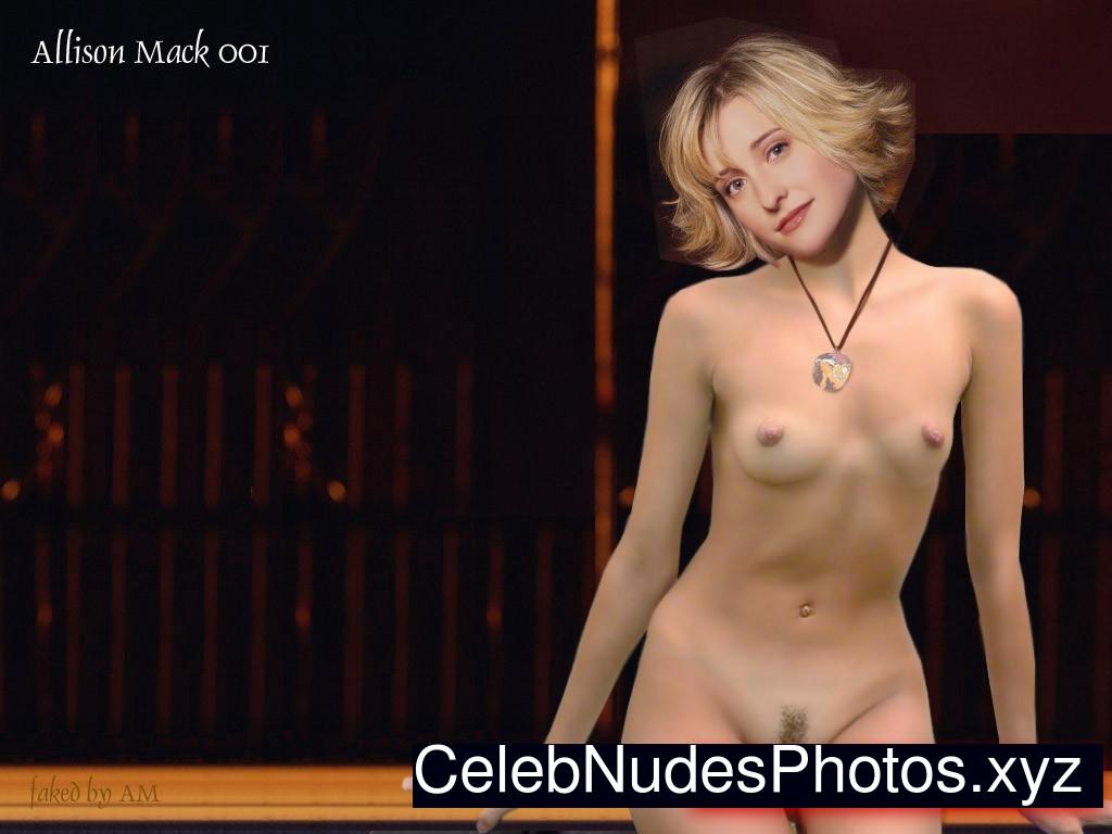 Allison mack nipples