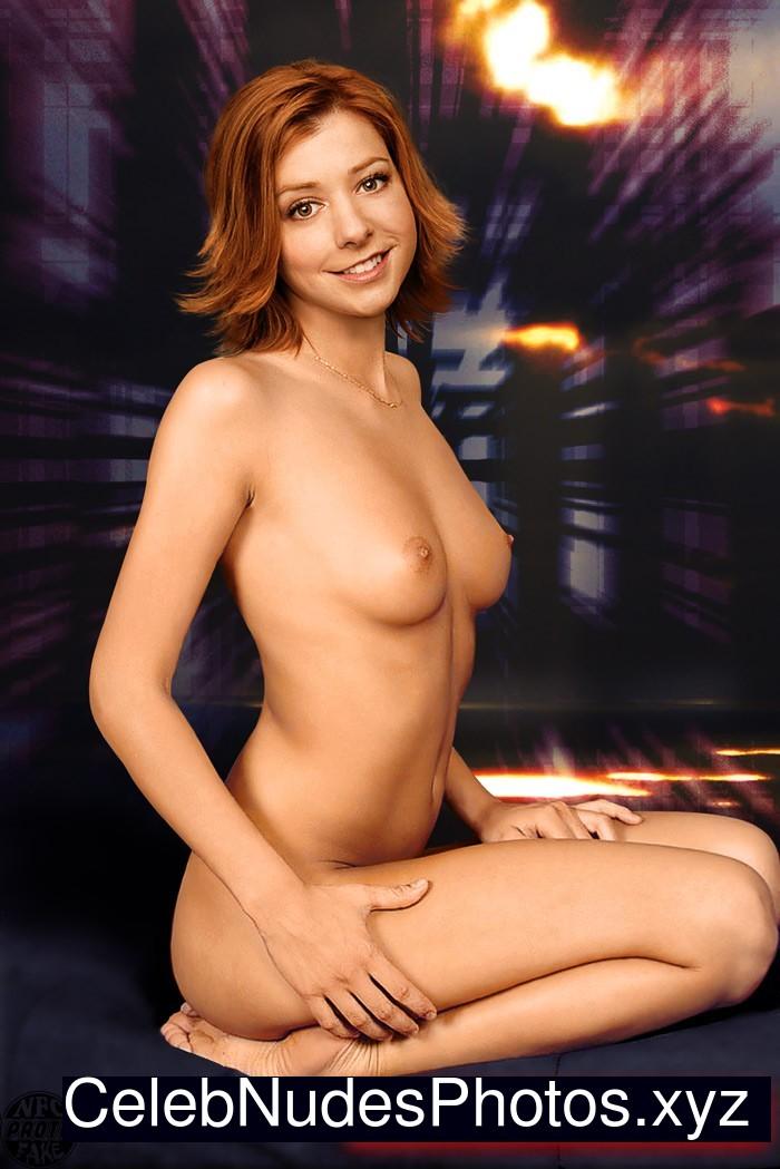 nude pics alyson hannigan