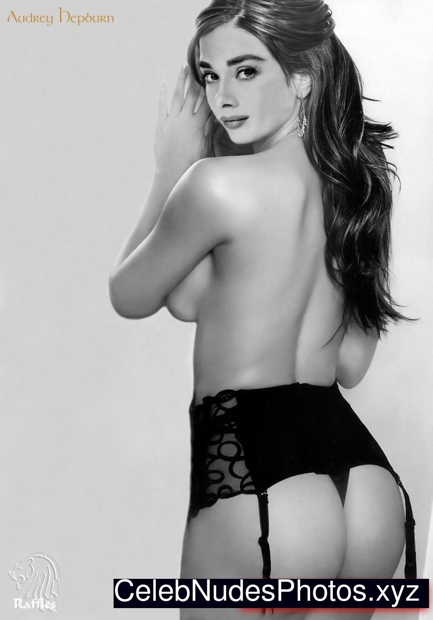 Audrey hepburn topless