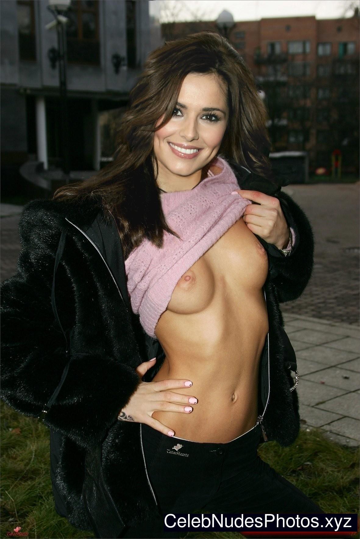 Celebrity Cheryl Tweddy Nude Gif