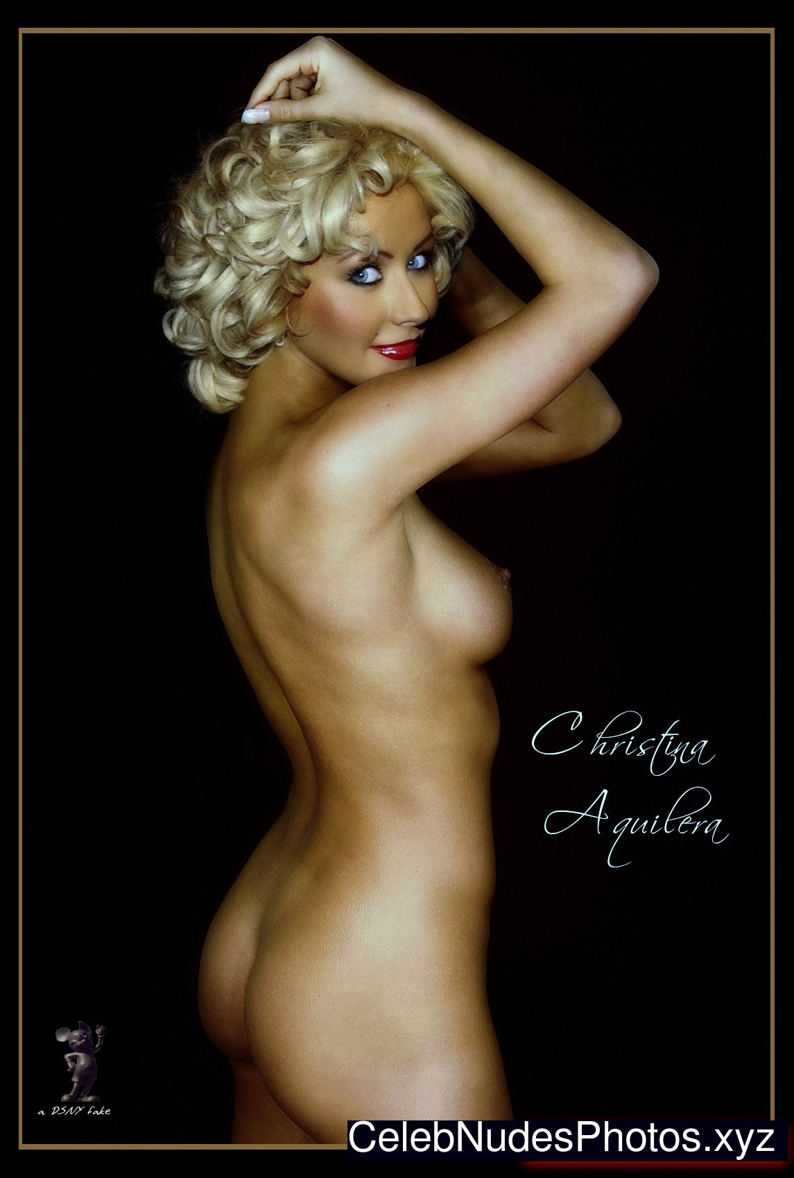 free christina aguilera porn