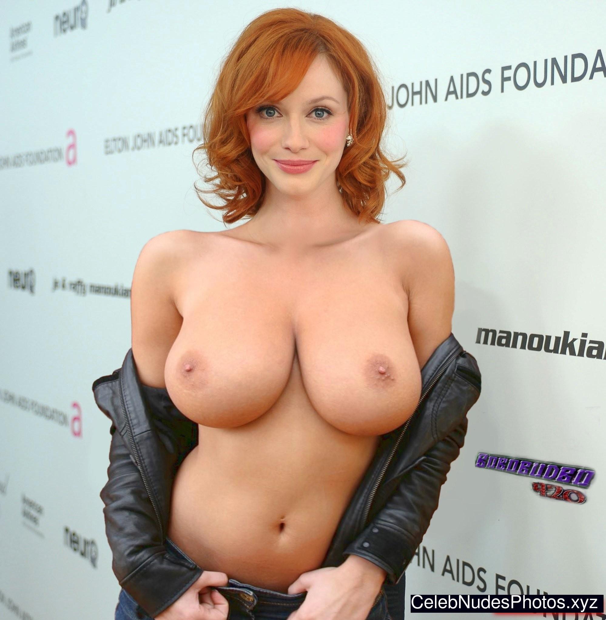christina hendricks topless photos