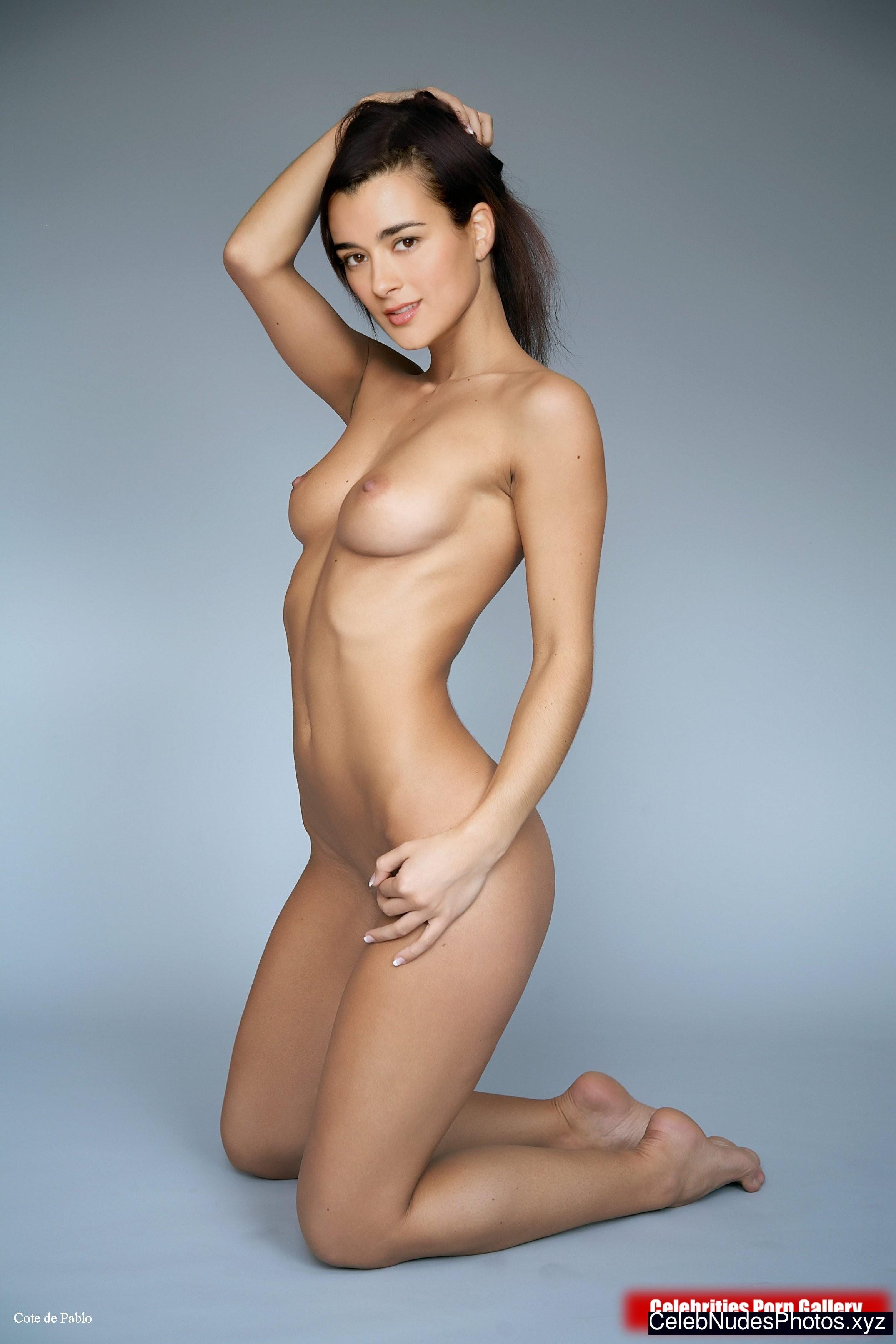 cote de pablo real nude