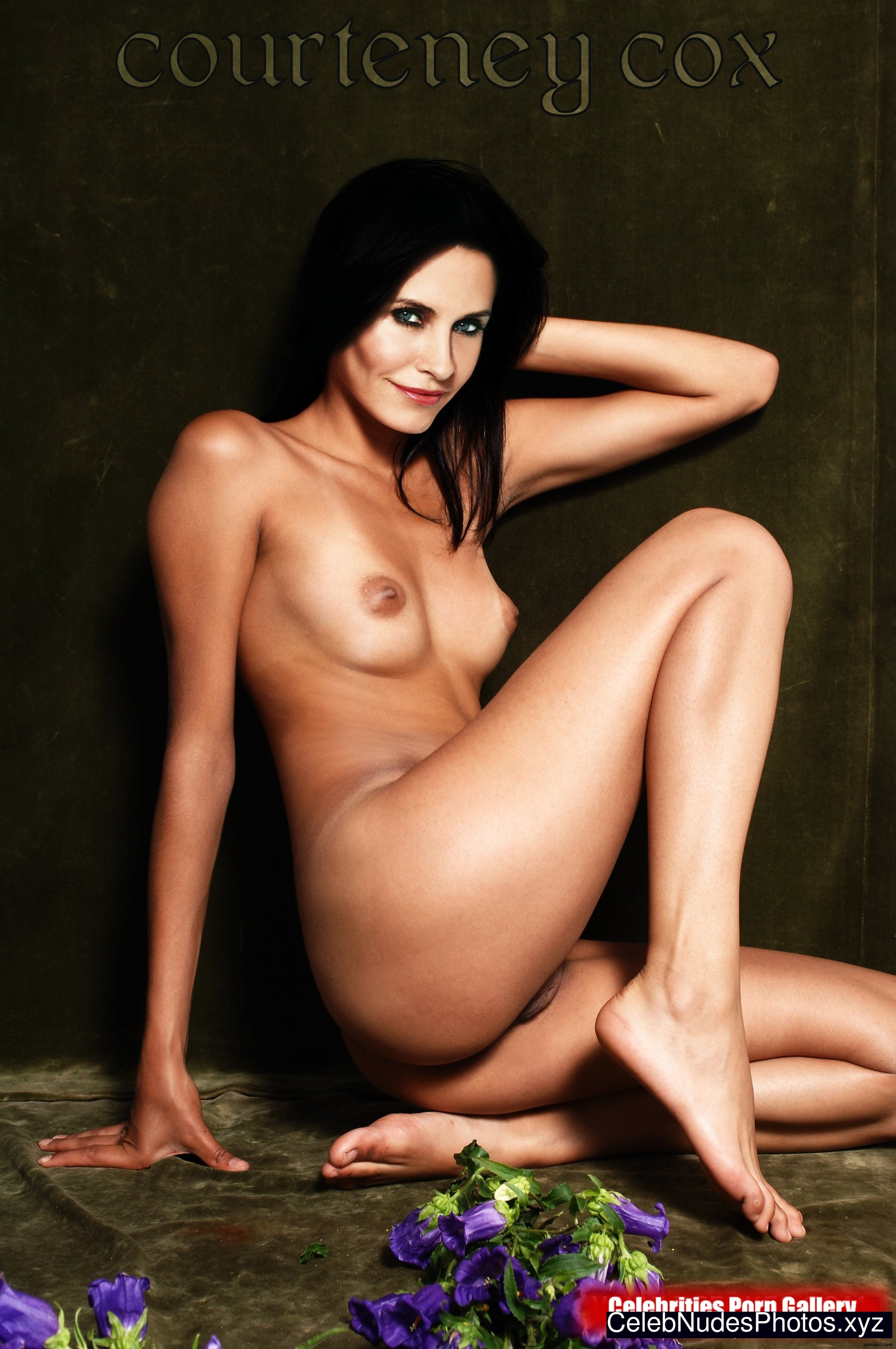 courtney cox nude