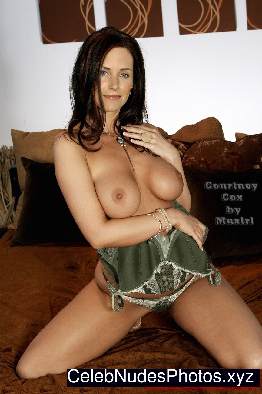Tits fake courtney cox