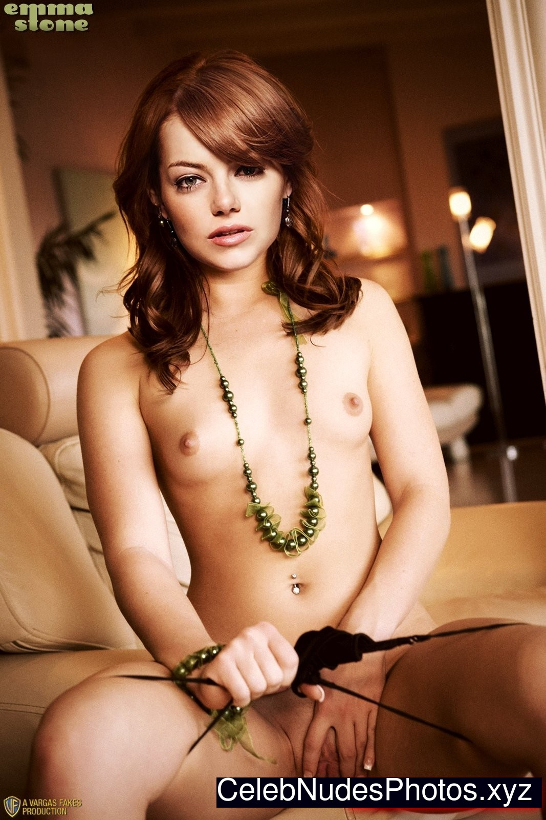 emma stone nude real