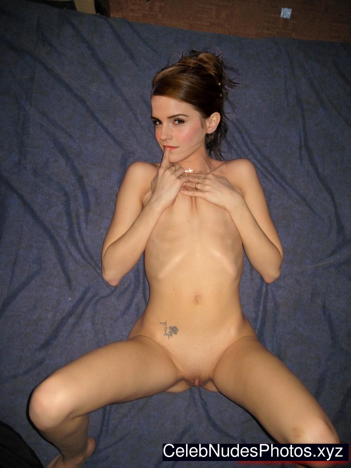emma watson real nude