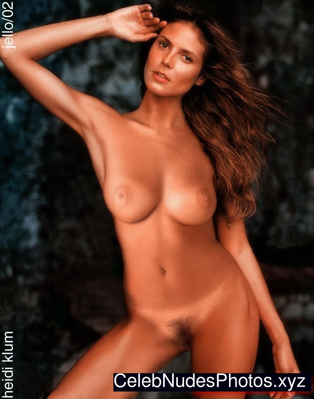 heidi klum nude pics