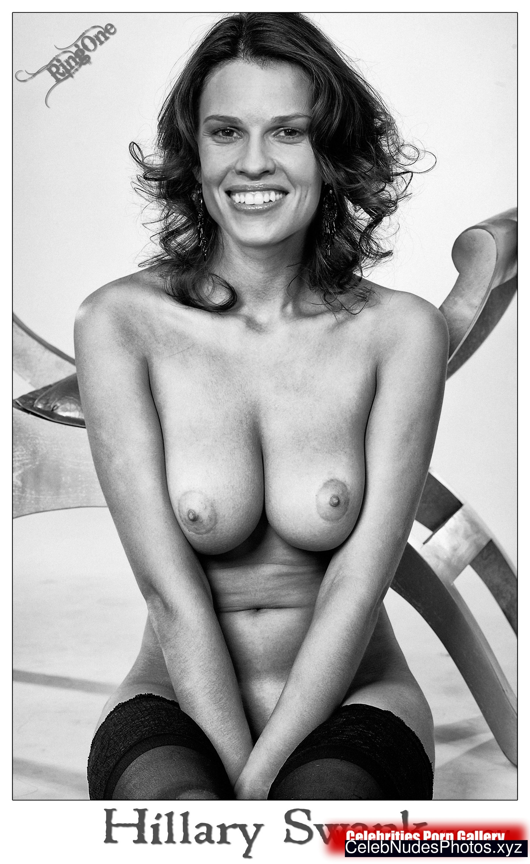 Hilary Swank Boobs