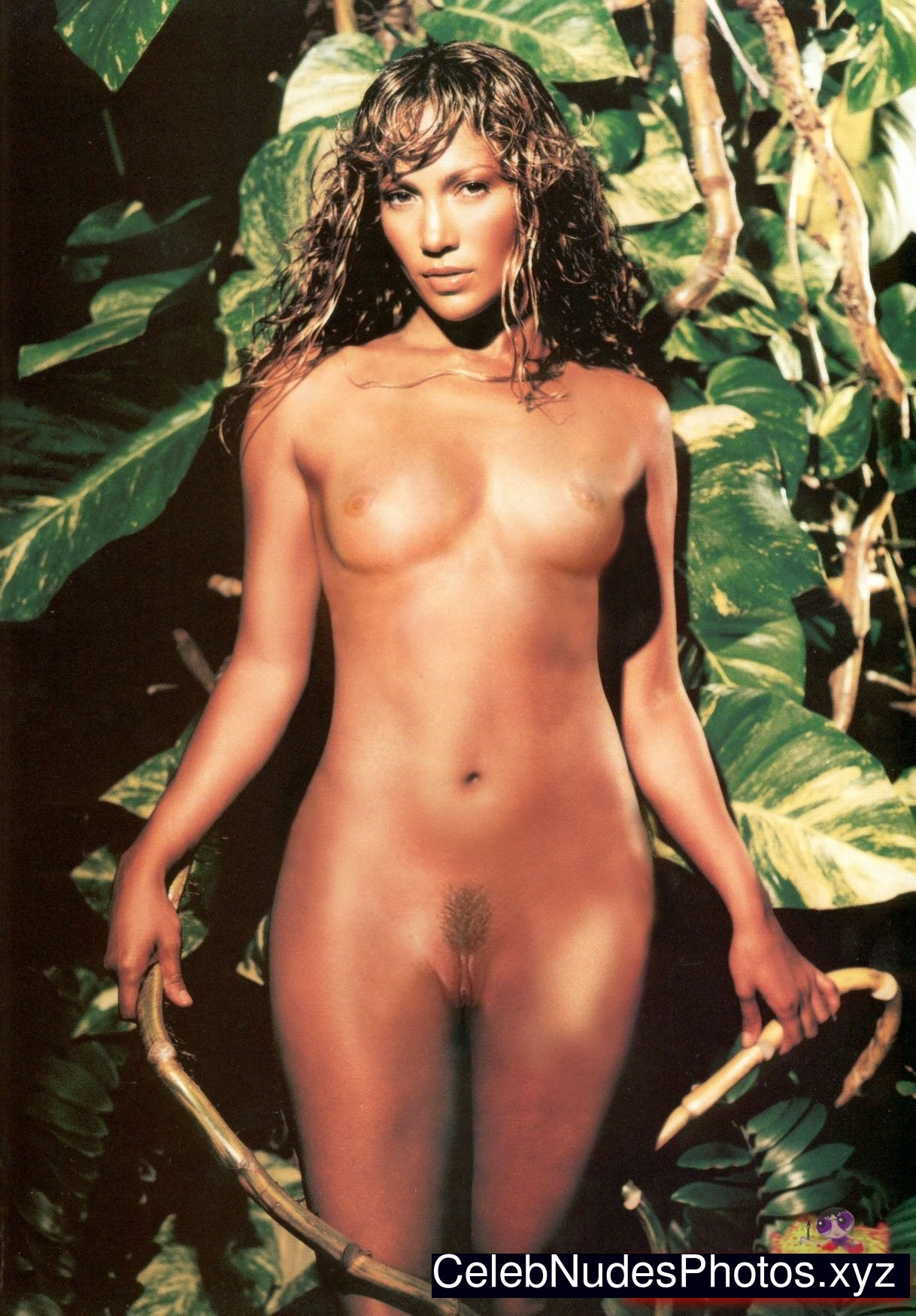 Nude girl in money