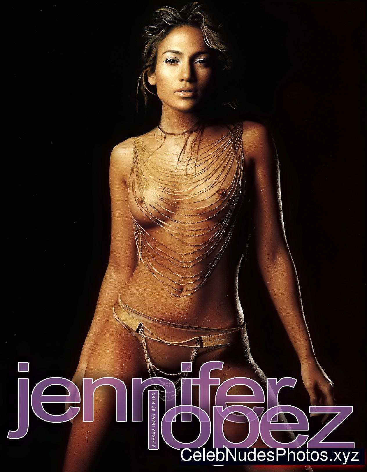 jennifer lopez stripping nude