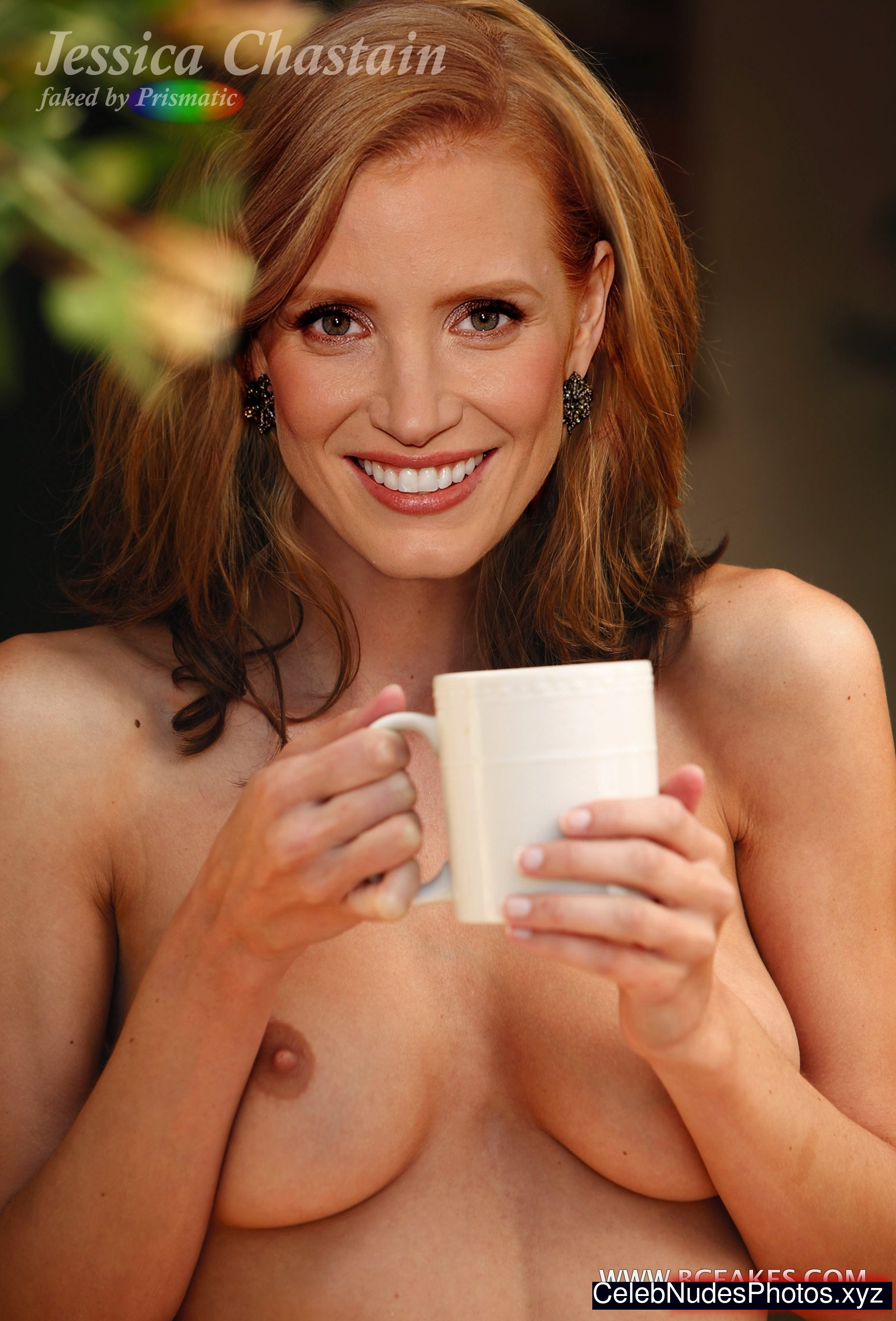 jessica chastain fake nude