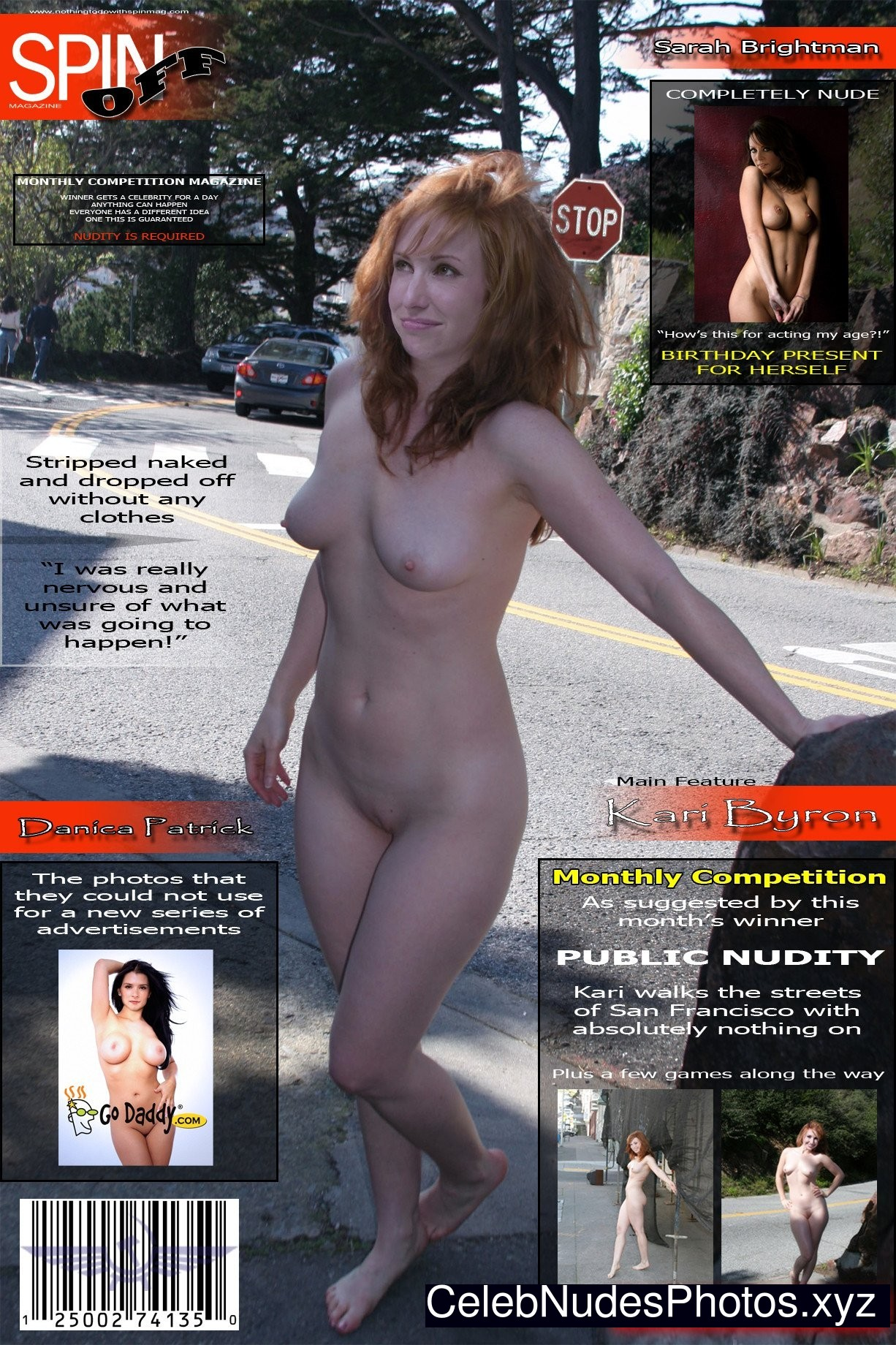 Naked photos of carrie byron 4