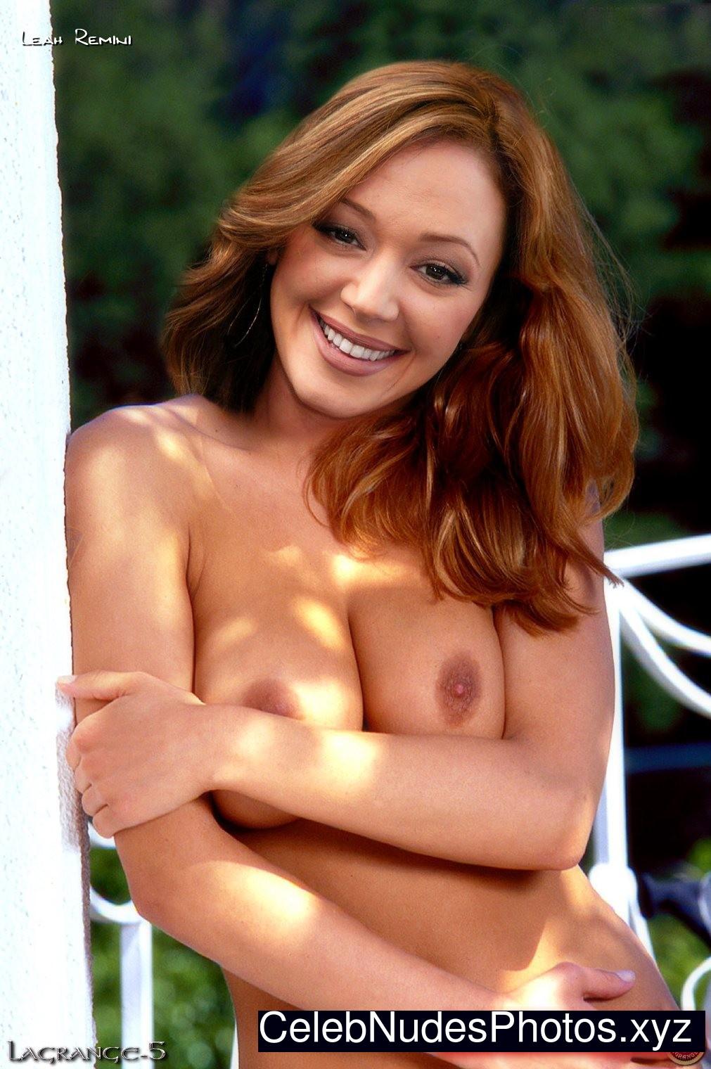 leah remini nude film