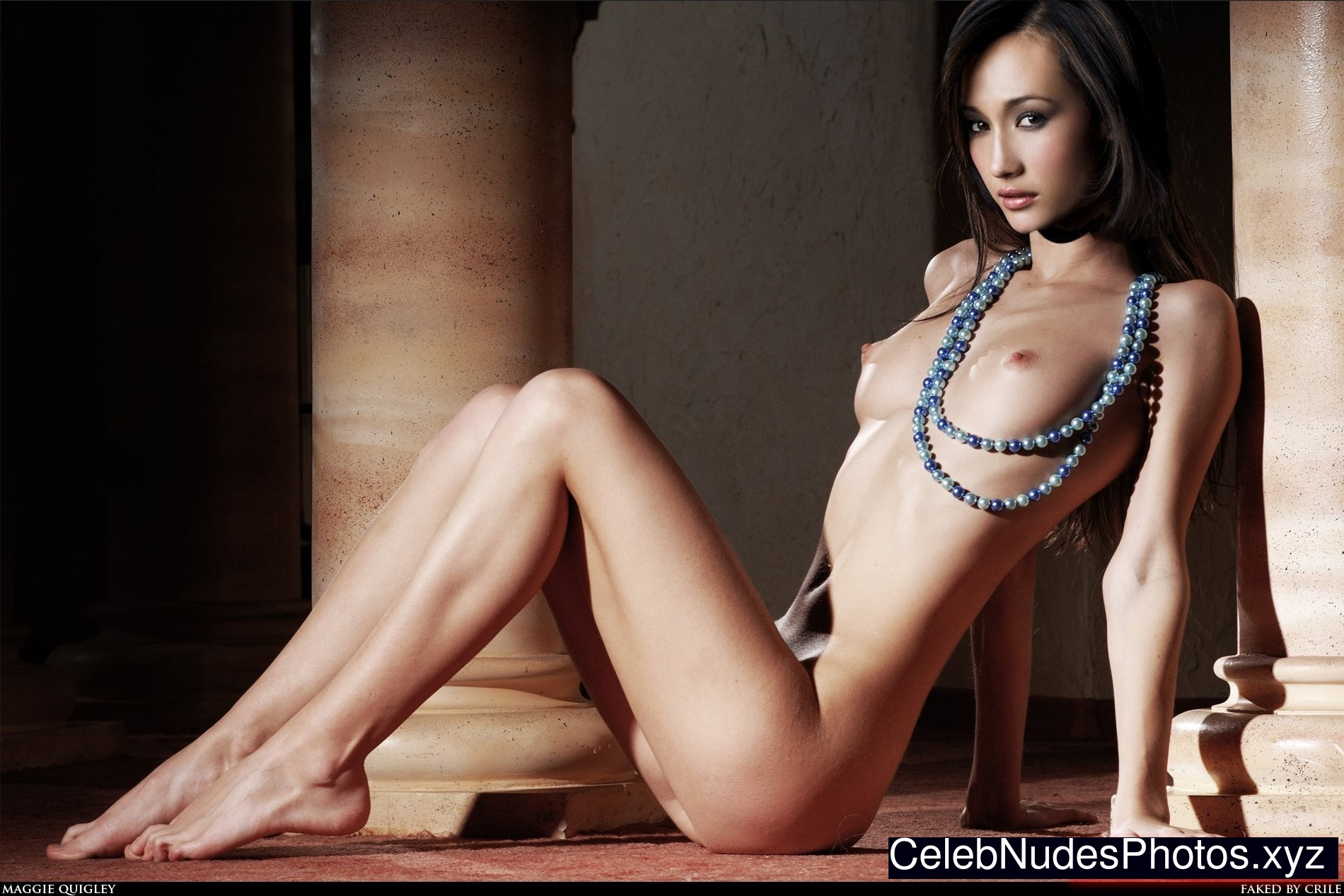 maggie naked