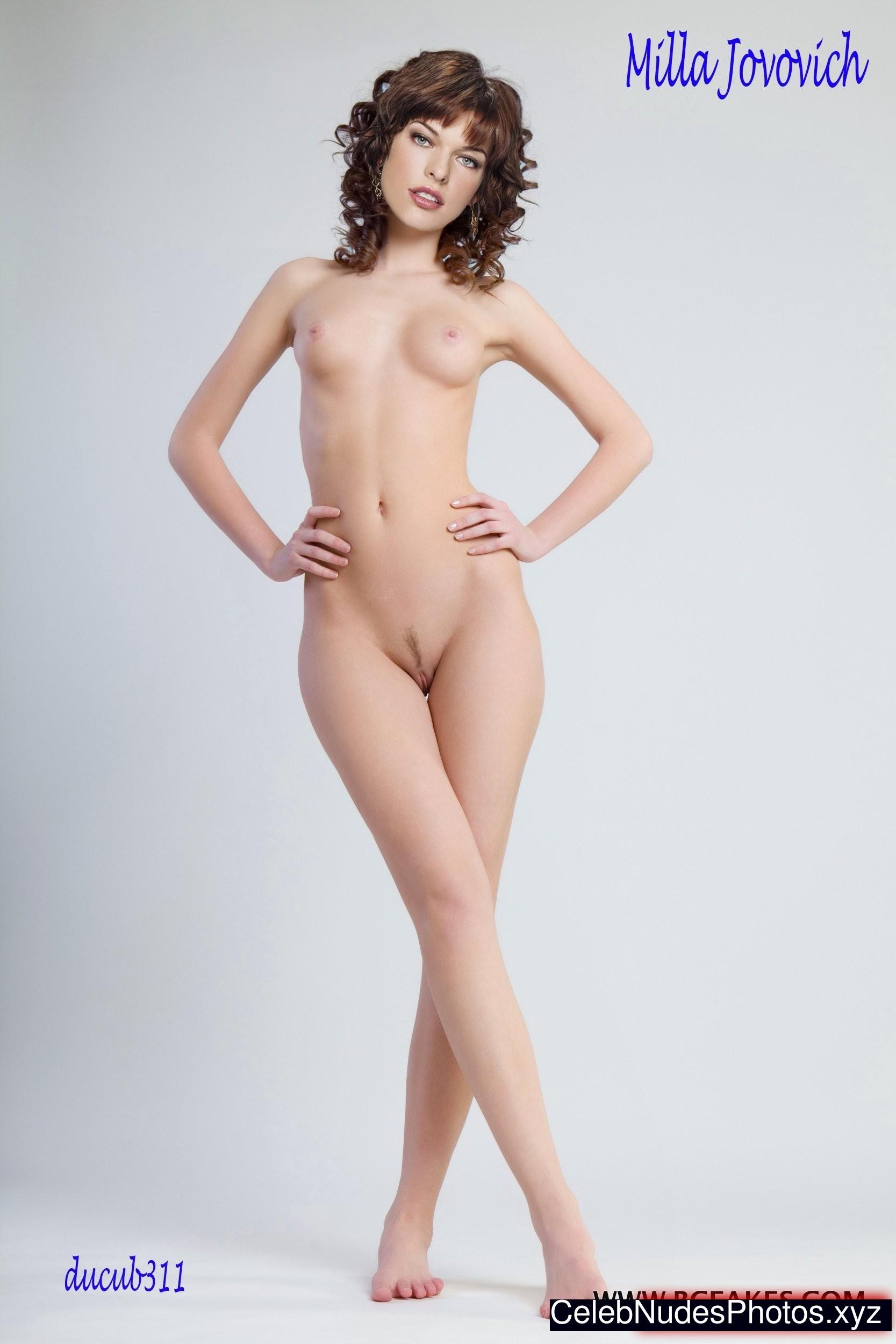 hot nude milla jovovich