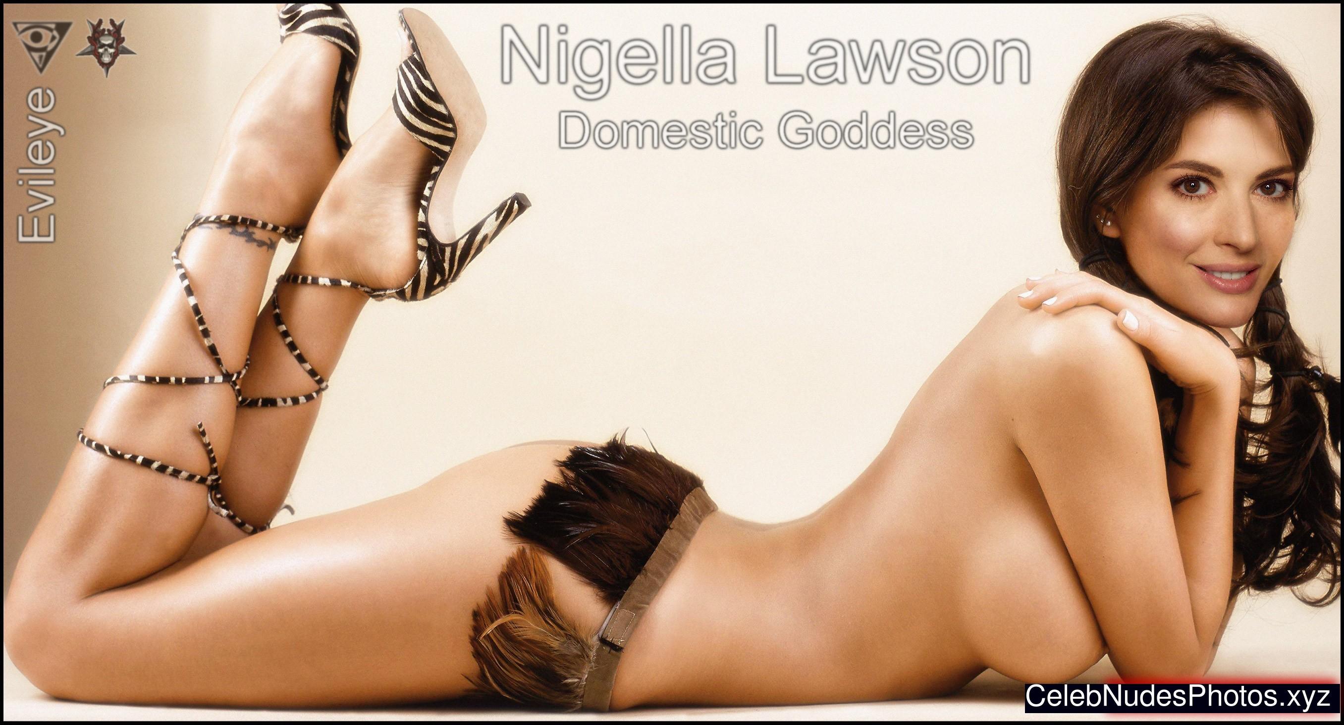 Photos nigella lawson nude