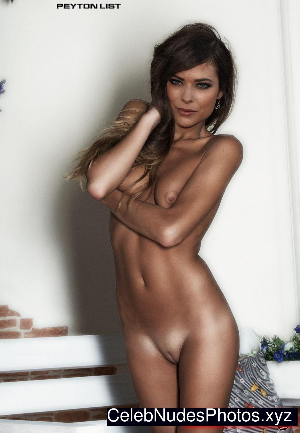peyton list almost naked