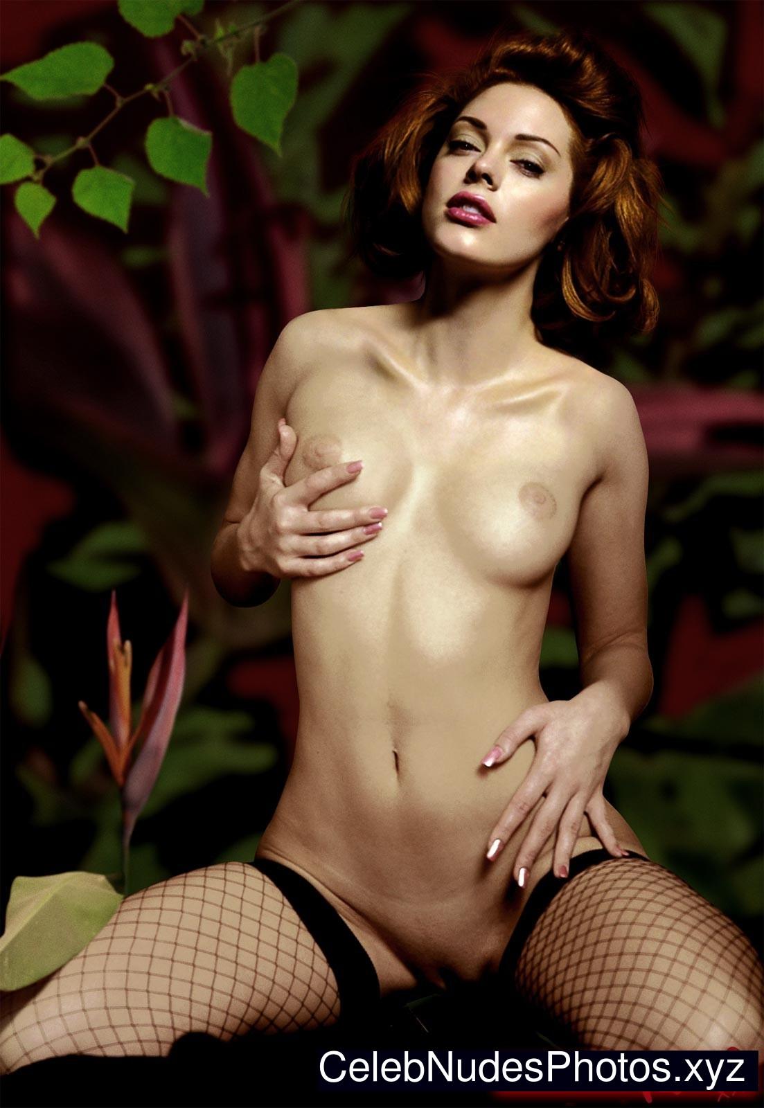 Naked pic mcgowan rose