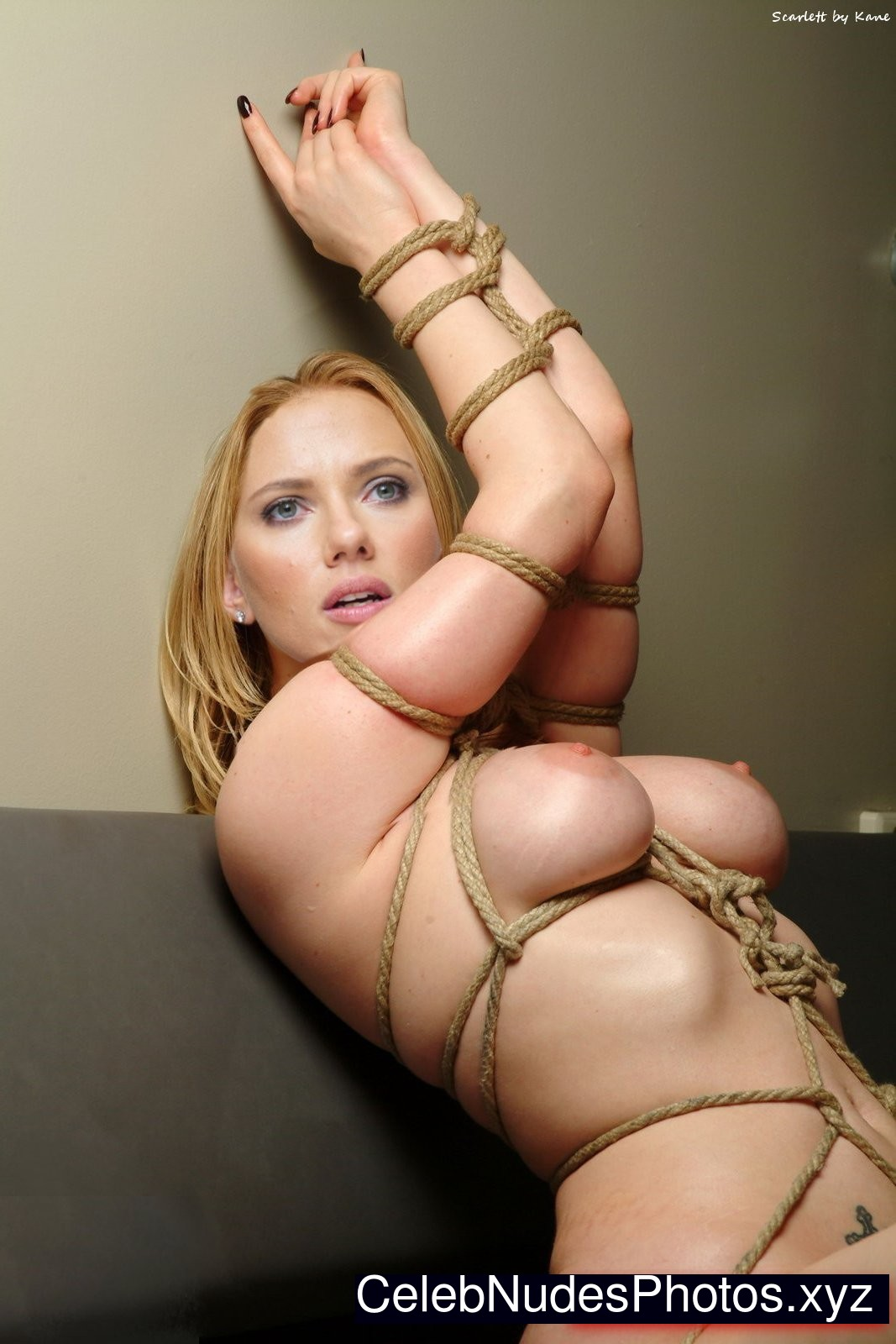 scarlett johanson nude for peta
