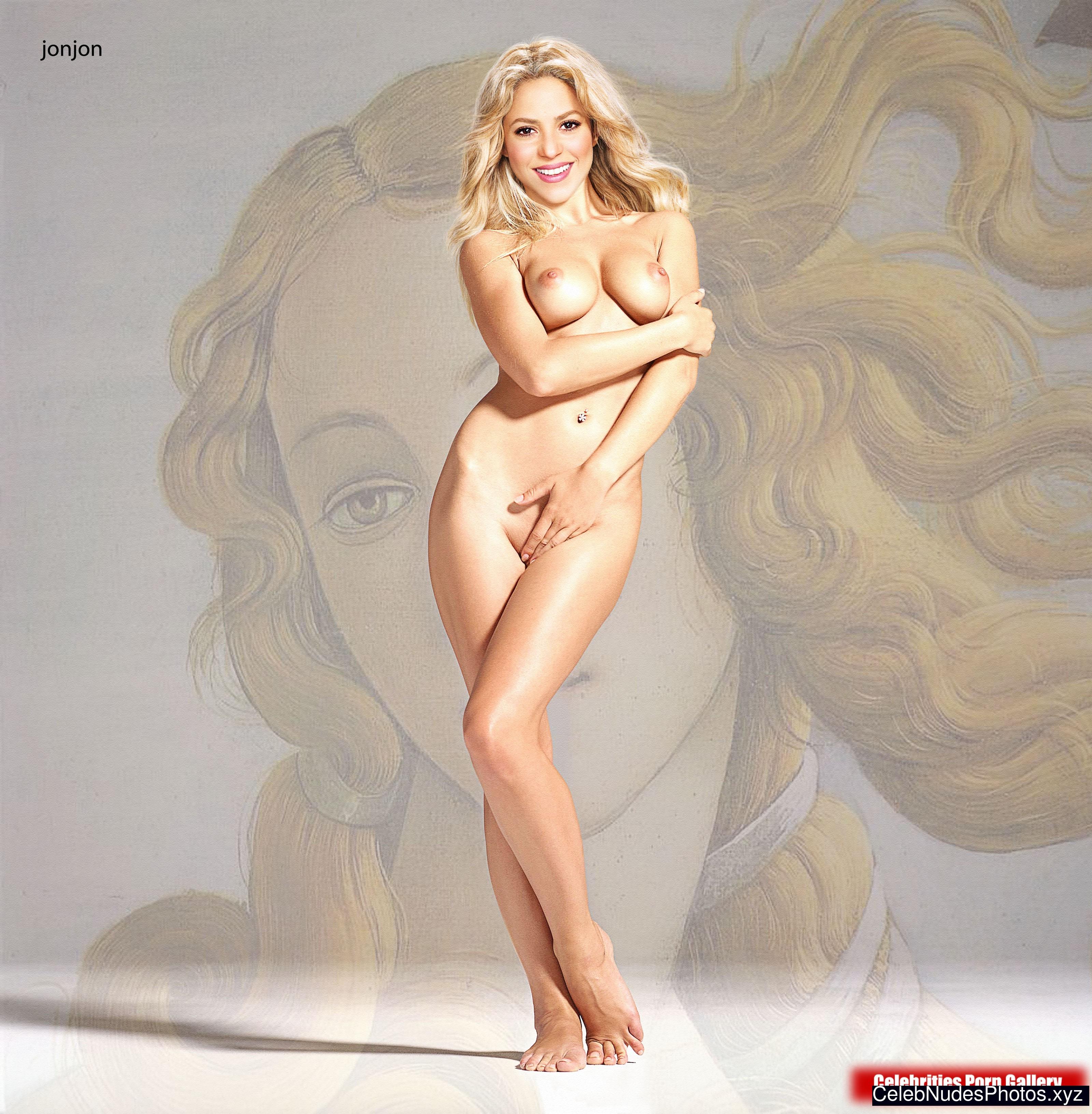 shakira naked images