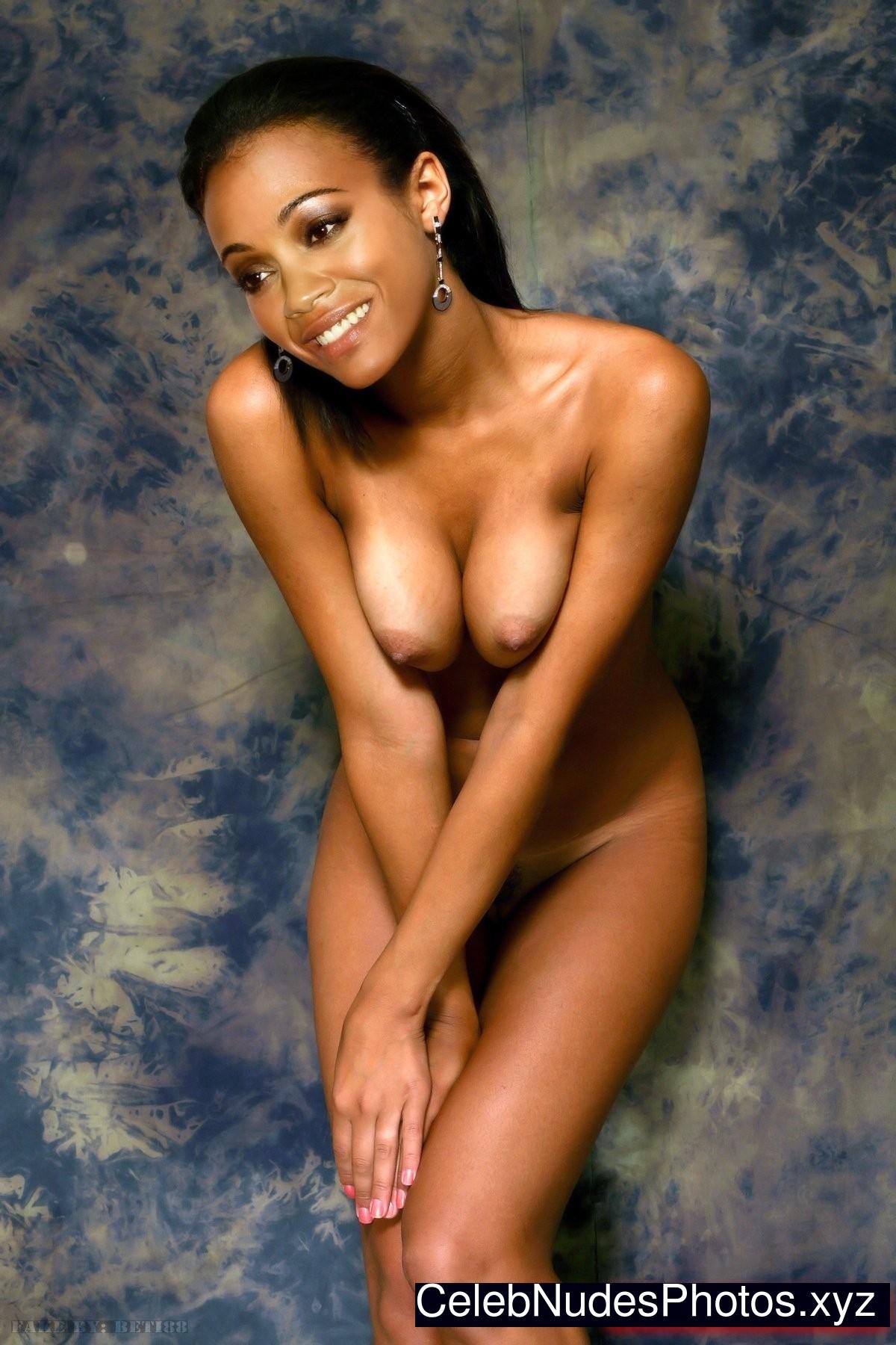 zoe saldana sexy nude